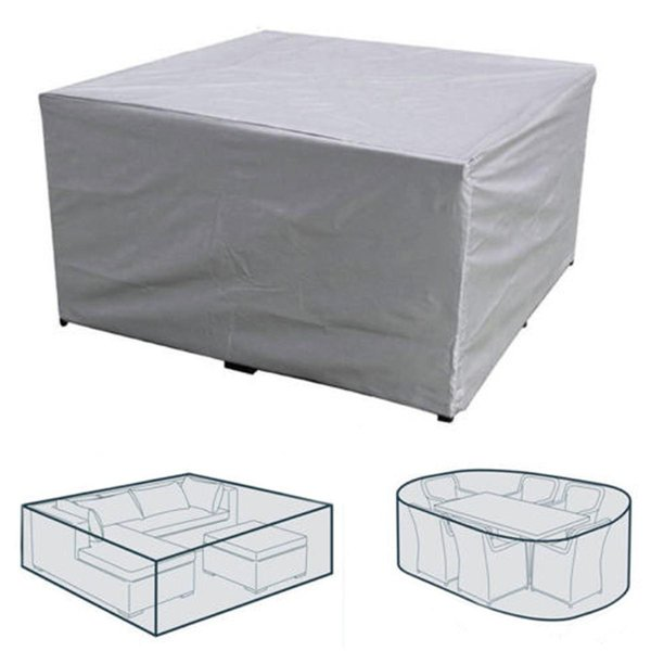 Big Sizes summer BBQ Waterproof Outdoor Patio Garden Furniture Covers Rain Snow Chair covers for Sofa Table Chair Dust Proof Cover