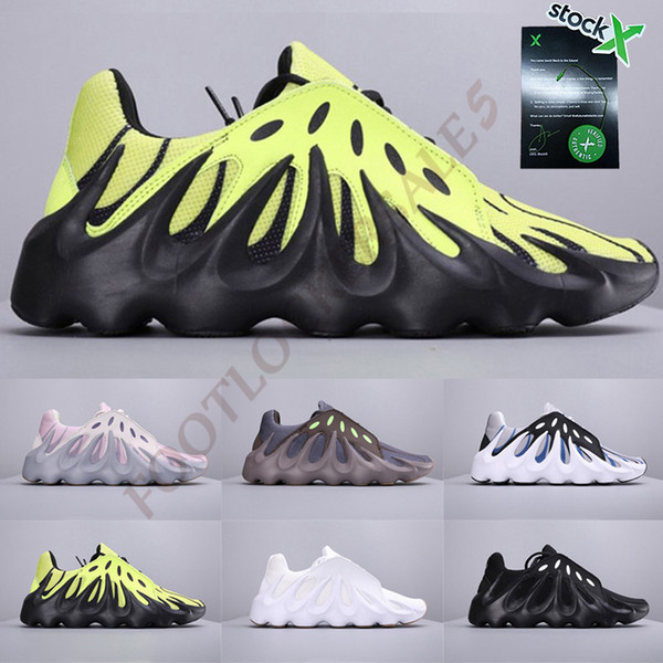 Avec Stock X 451 Designer Chaussures Kanye Nouveau Volcan Casual Papa Chaussures Fashon Luxe Ouest Luxe Baskets Baskets des chaussures Taille 7-11