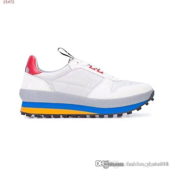Zapatos de hombre nuevos Moda casual transpirable y cómodo Color de costura Diseñador de gran tamaño Últimos Hombres Diseñador Zapatillas de deporte Zapatillas de deporte de los hombres