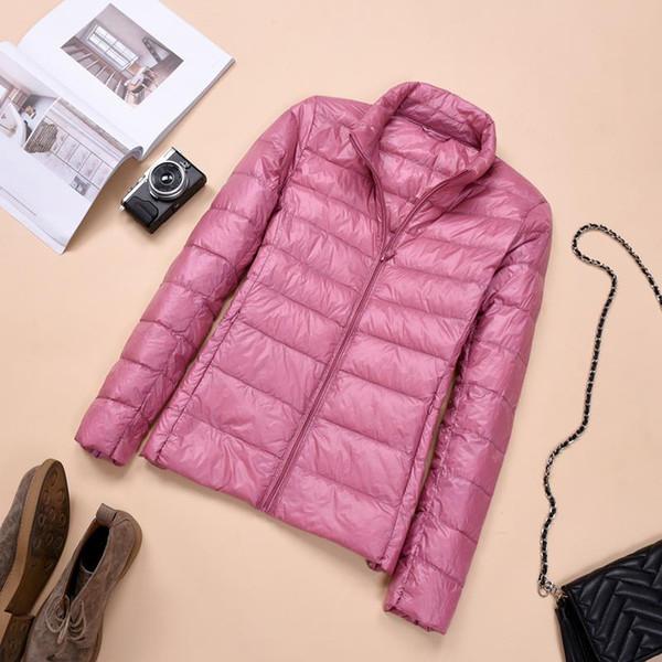 Winter Women Ultra Light Down Jacket Warm White Duck Down Parkas Puffer Jacket Autumn Female Thin Coat Outwear Plus Size RH1410