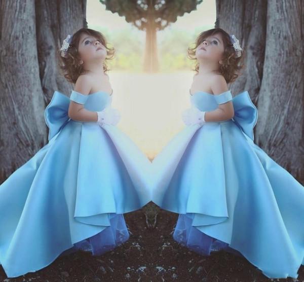 Bambina Bambino Abbigliamento Prom Dress compleanno Tulle Flower Girl Kid spettacolo di ballo di sfera principessa formale occasione di nozze