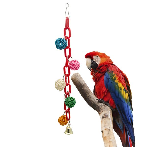 Parrot Toys Bird Toys Plastic Chain Second Gram Force Wood Gnaw Ebay Wish Amazon New Pattern