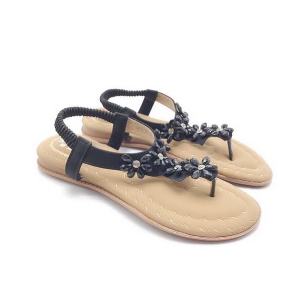Sportschuhe : Damen Heiße Produkte Beige Schwarz Sandalen
