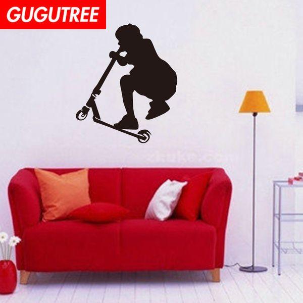 Decorate Home sport cartoon art wall sticker decoration Decals mural painting Removable Decor Wallpaper G-2021