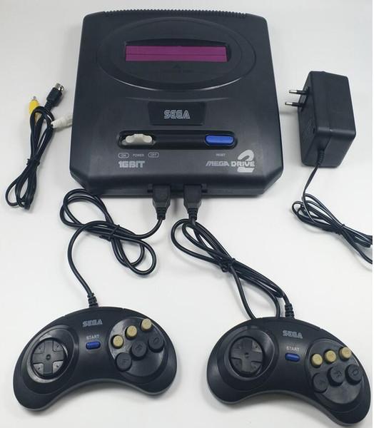 Sega MD2 Video Game Console 16 bit Classic Handheld game player megadrive 2 TV game consoles support original card