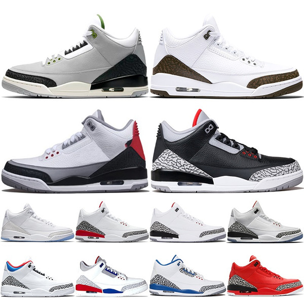 Basketball Shoes Men Mocha Tinker Katrina JTH NRG Black Cement Free Throw Line Pure White Athletic Trainer Sports Sneakers Size 41-47