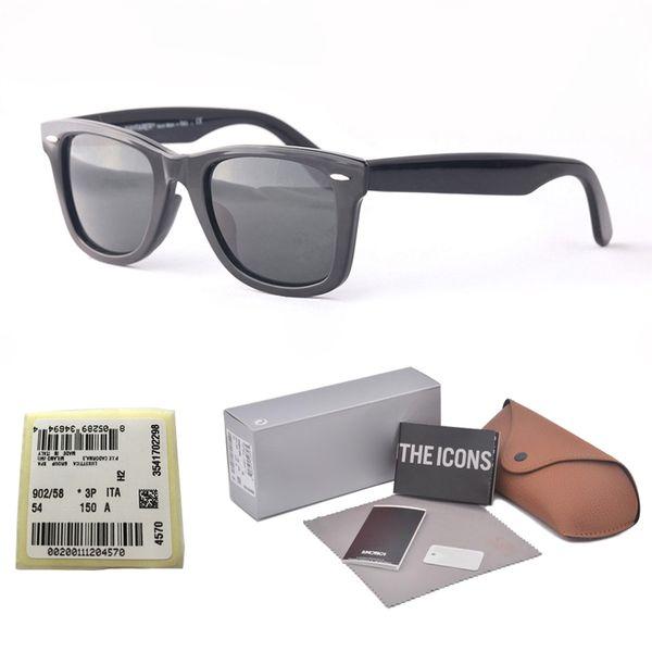 Brand designer (glass lens )Sunglasses For Men Women Fashion Vintage UV400 Mirror Sun Glasses Retro Eyewear with free box and label