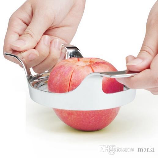 Marki Sebze Meyve Elma Armut wedger Kesici Dilimleme bıçağı Pişirme Araçları corer DIVIDER alet Mutfak Yardımcısı 10pc H120