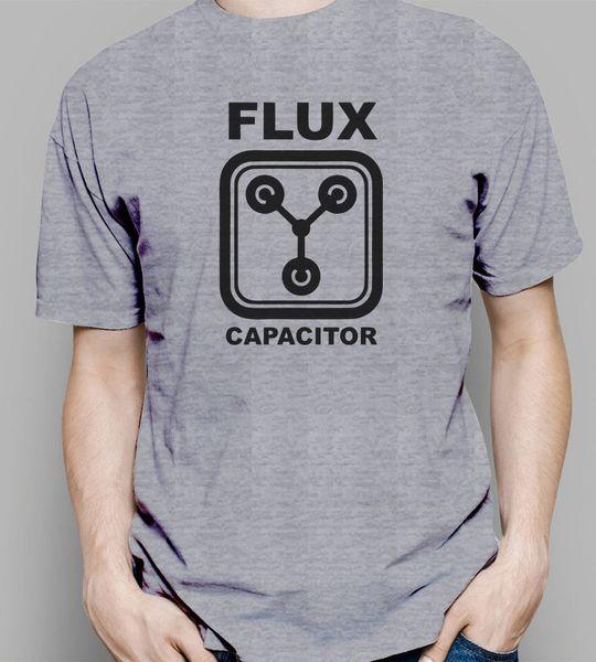 Flux Capacitor T Shirt mens black funny gift