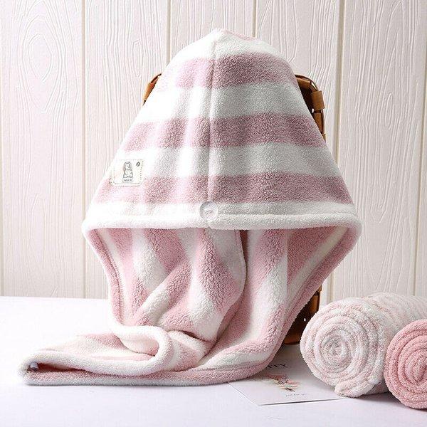 Kuru Duş Sihirli Mikrofiber Saç Hızlı Wrap Havlu Kurutma Bath Spa Başkanı Cap Şapka Kadınlar Hızlı Cap Turban Kuru çevirin