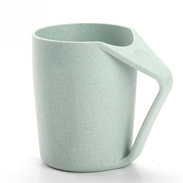 400 ML Taza de agua Tazas Eco Friendly Paja de trigo Diente cepillo de dientes Inicio Taza irrompible Taza de té Café Taza de leche enjuague wh0515