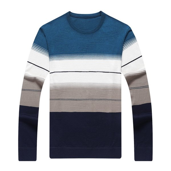 HEFLASHOR Men Knitted Sweaters Slim Round Neck Sweaters Autumn Winter Fashion Men's Casual Athleisure Tops Fashion Hot Sales