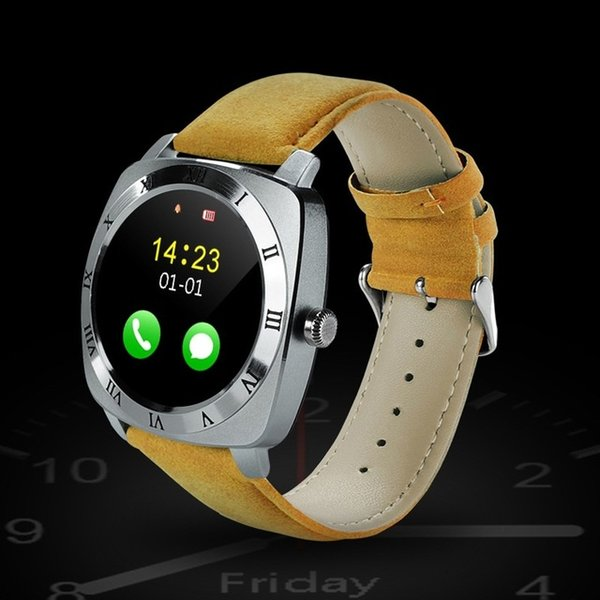 New Smart Watch X3 Smartwatch Pedometer Fitness Clock Camera SIM Card Mp3 Player Relogio Masculino for Android Watchphone