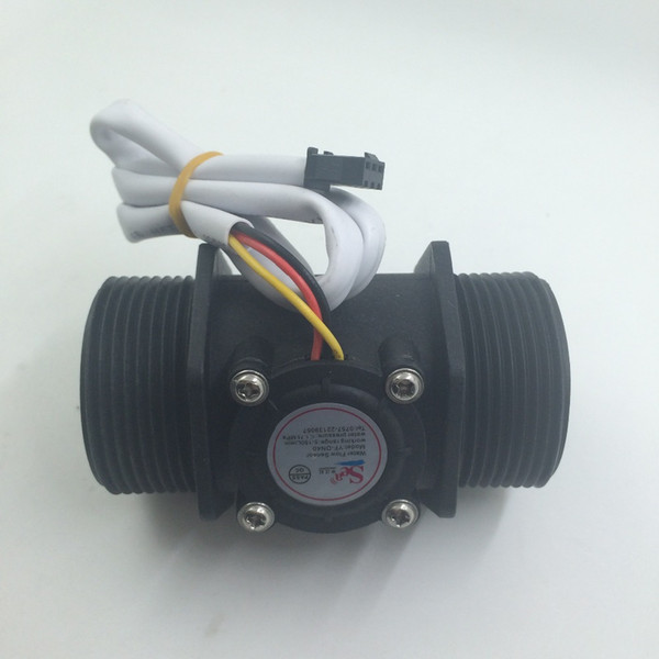 "Water flow sensor Industrial flow meter G1.5"" Water Flow Flowmeter Counter Hall Sensor Switch Meter G1.5 DN40 5-150L/min"