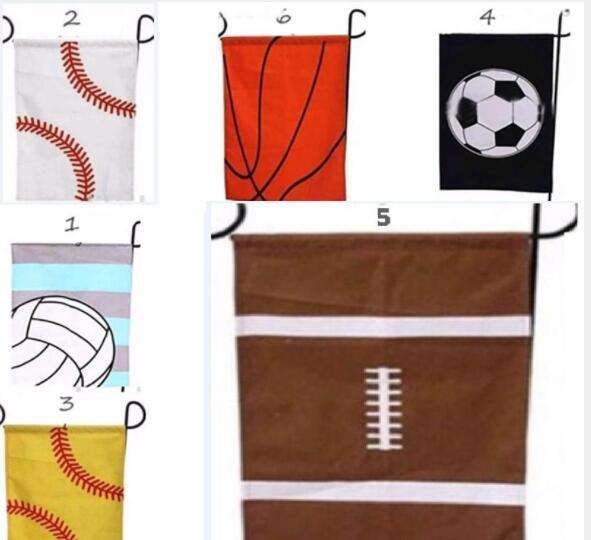 2019 basquete beisebol jardim bandeira bandeiras esportes bola de páscoa bandeira lona jardim ao ar livre decorativa jardim bandeira de beisebol futebol softbol