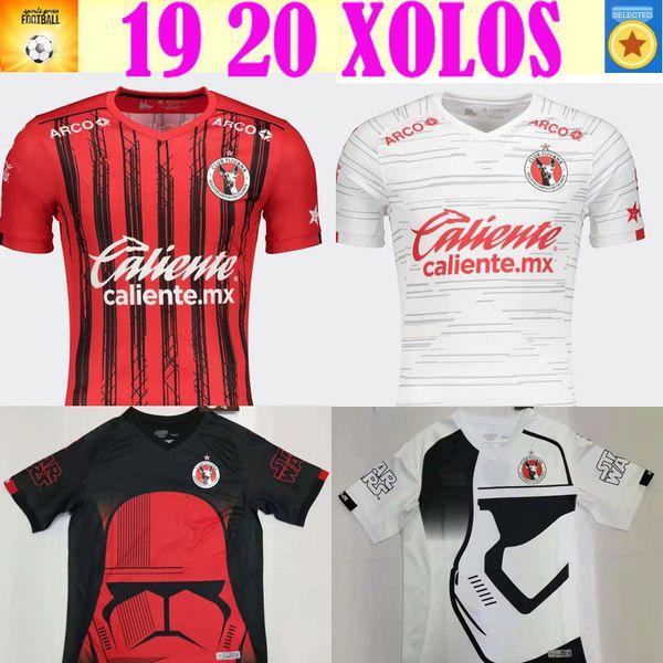 2020 Xolos de Tijuana soccer jersey 2019 2020 Club Tijuana home red away white RIVERO LUCERO BOLANOS Special Edition football shirt