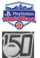 Fiesta Bowl with 150th patch