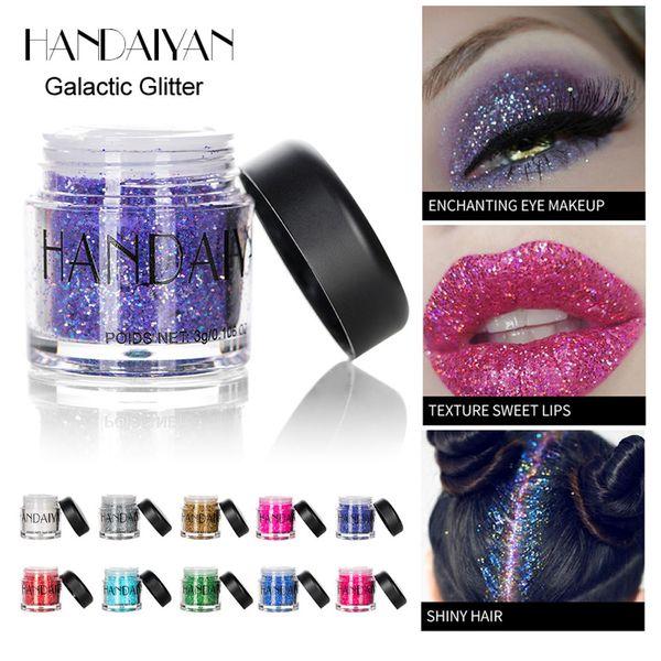 Shimmer Glitter Eye Shadow Powder Palette Matte Eyeshadow Cosmetic Makeup Shadow Make Up Kit 2018
