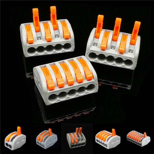 PCT-215 PCT-212 PCT-213 PCT-215 PCT-218 250 V 32A 4KV Evrensel Kompakt Tel 5Pin 2Pin 3Pin 4Pin 8Pin Bağlayıcı İletken Terminal Bloğu