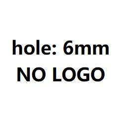 6 мм без логотипа глянцевый стальной цвет