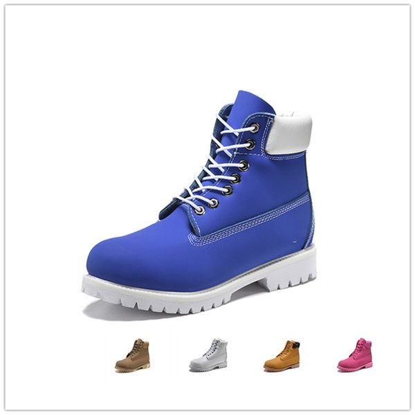 High Top Sneaker Original mens women winter boots chestnut black white red blue Grey green womens men designer boot size 5.5-11