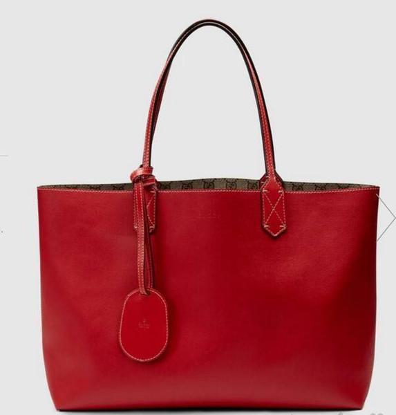Reversible Medium Tote 368568 Women Fashion Shows Shoulder Bags Totes Handbags Top Cross Body Messenger Bags