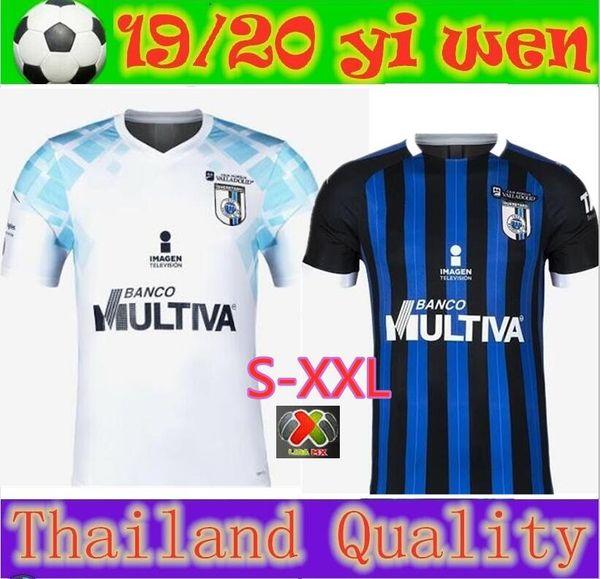 2019 Club Queretaro Fußball Trikot Sanvezzo Everaldo Marcello Trikot 19 20 Querétaro Samudio Britos Valencia Fußball Uniformen S-2XL