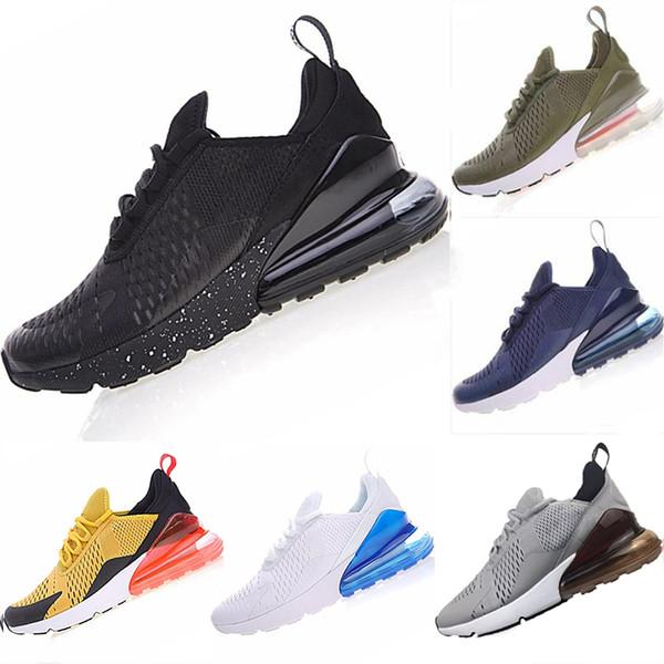 Nike Air Max 270 running shoes for men Sneakers Sport Fashion Designer di lusso Scarpe casual Trainer leggero con stampa a rilievo Taglia 36-45