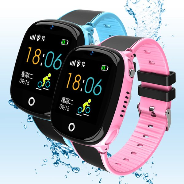 Q90 GPS Phone Positioning Fashion Children Watch 1.22 Inch Color Touch Screen WIFI SOS Smart Watch For Kid Safe Anti-Lost
