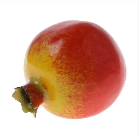 1pc New Lifelike Simulation Artificial Pomegranate Fake Fruit Disply Home Party Decoration for Home Foam Red
