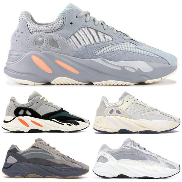 Adidas yeezy 700 Wave Runner Cinza Sólido Top Tephra Analógico Estático Preto 3 M Reflexivo Homens Sapatos de Designer Inércia Geode Vanta Esporte Tênis Schuhe
