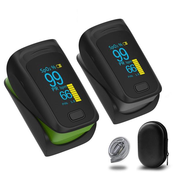 2019 nuevo médico portátil digital LED dedo oxímetro de pulso monitor de saturación de oxígeno en sangre cuidado de la salud de alta calidad