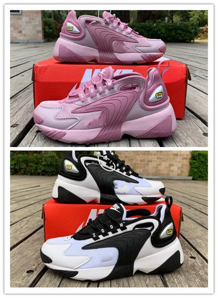 Zoom winflo 2000 running neaker red pink white black zoom 2k jogging port hoe for man women ao0354 100