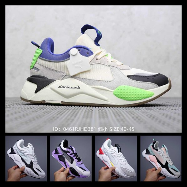 [Avec montre de sport] Designer shoes PUMA men women Nouveaux Creepers RS-X Toys de haute qualité Chaussures Casual Chaussures Reinvention Chaussures Nouveau Hommes Femmes Running