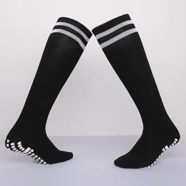 2019 Anti Slip Men's women Football Socks Sports Running Soccer Long Stockings adult basketball Sox Thicken medias de futbol socks