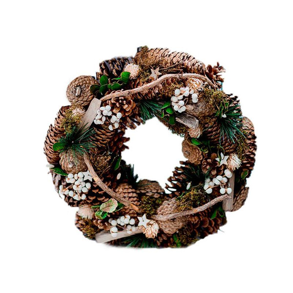 Christmas Decorations Pendant Living Room Wall Hangings Hanging Wall Decoration Natural Shape Pine Cones Hanging