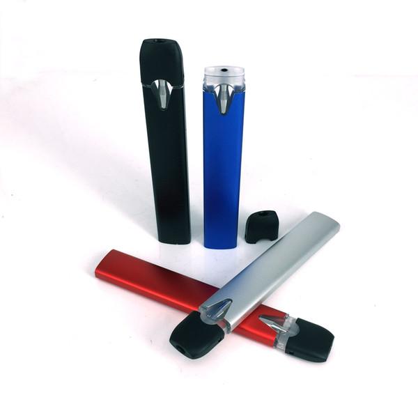Los kits de cigarrillos electrónicos más nuevos Pod Vape Pen desechable con bobina de cerámica vacía Pod 0.5ml Cartuchos 380mAh Batería apta para Extraer aceite grueso