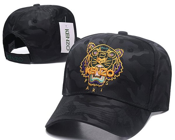 New Style Golf bone Curved visor hat Casquette Snapback Caps Tiger embroidery High quality baseball Cap gorra polo hats for men women hiphop