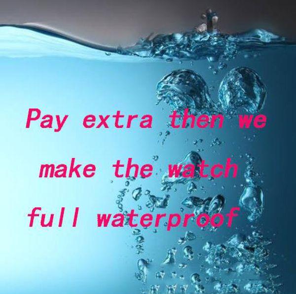 Only waterproof