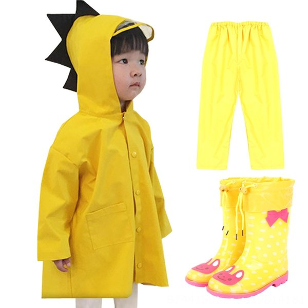 Dinosaur impermeabile giallo + Raincoat + Ra