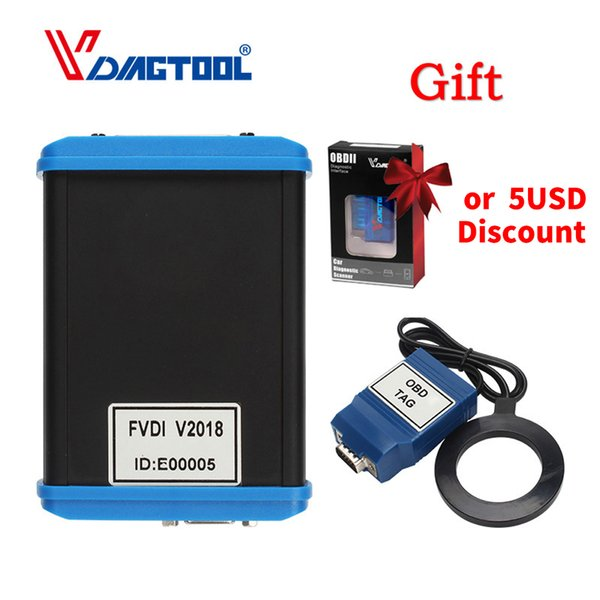 Car-Styling FVDI 2018 ABRITES Commander Scanner With 18 Software Diagnostic Tool 2015 2014 Version Elm327 As Gift FVDI J2534