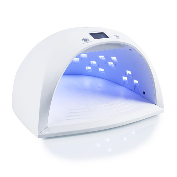 Uv 3plus Nail Lamp 60w Nail Dryer For Uv Led Gel Varnish With 27pcs Leds Battery Wireless Manicure Fast Dry Nail Drying Machine T190712