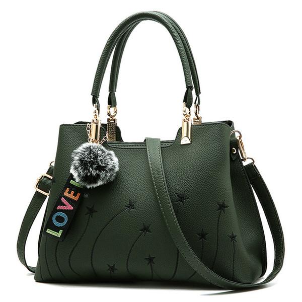 4 cores novas mulheres bolsa grande capacidade de cor sólida bolsa de ombro bolsa de mensageiro de moda senhoras bolsa casual