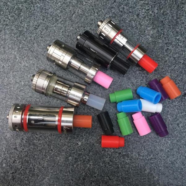 Bocchino di prova colorato 510 con punta a goccia in silicone corto per sottotank Nano Arctic Atlantis Mini Punta pulita