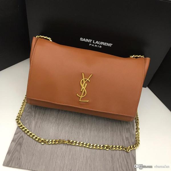 Leather chain bag26 handbag Shoulder womens Bag Envelope bag Crossbody wallet Shopping messenger bags bag bagsysl