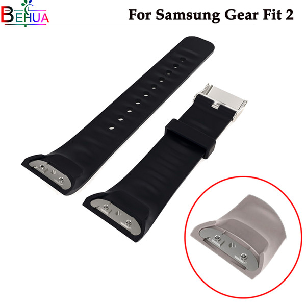 Silicone Sport wristband Watch band For Samsung Gear Fit 2 watch SM-R360 smart For Samsung Gear S2 watchbands Accessories