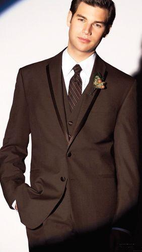 Moda Um Botão Groomsmen Notch Lapela Do Noivo Smoking Ternos Dos Homens de Casamento / Baile / Jantar Melhor Homem Blazer (Jacket + Pants + Tie + Vest) A359