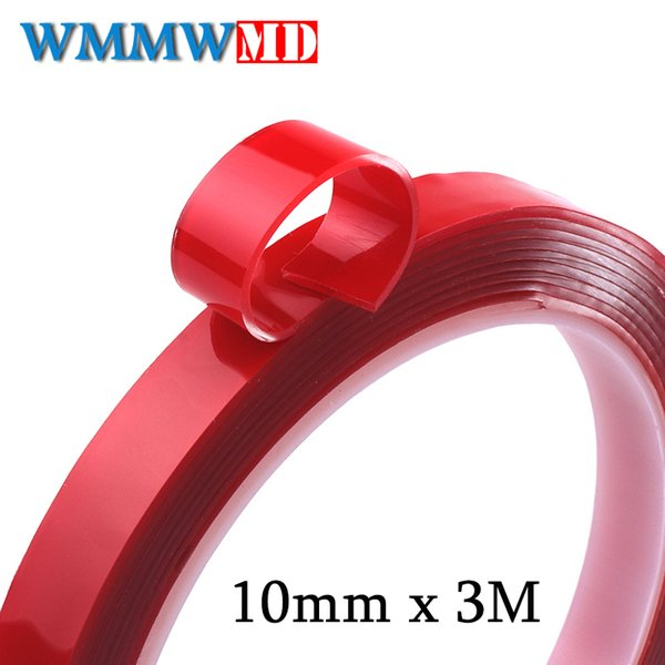 3M Double Sided Adhesive Tape High Strength Acrylic Gel Transparent No Traces Sticker for Car Auto Interior Fixed Car-styling