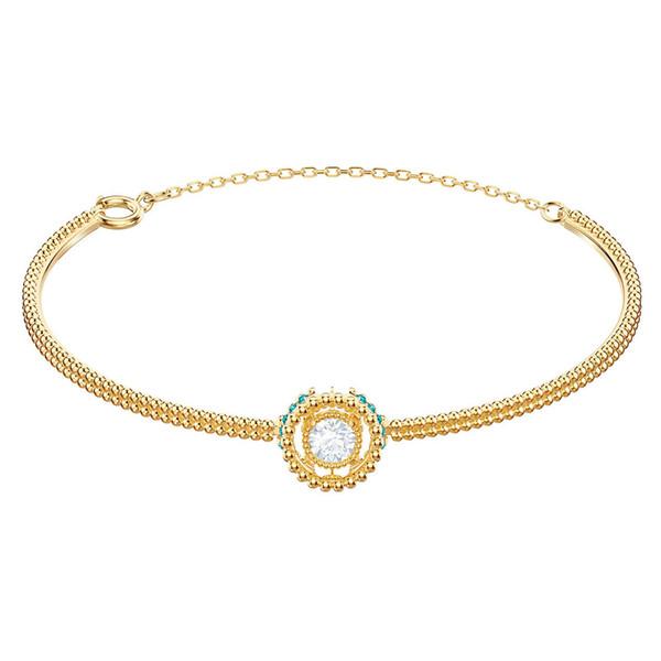 SWA RO 2019 Nueva 5.468.722 OXÍGENO pulsera original Señora joyería fina brillante Salto Cristal Enviar amantes Pareja de joyería de lujo regalo