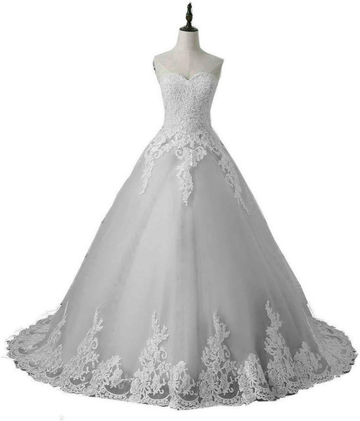 2019 Fashion Sweetheart Appliques Lace Ball Gown Quinceanera Dresses Plus Size Sweet 16 Dresses Debutante 15 Year Formal Party Dress BQ169